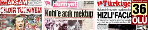 Türkische Zeitungen