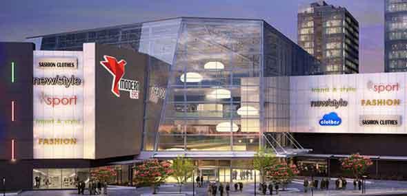 Einkaufszentrum Modern East