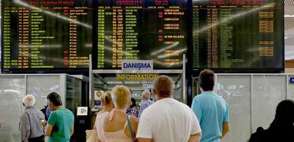 Flugausfälle Flughafen Istanbul