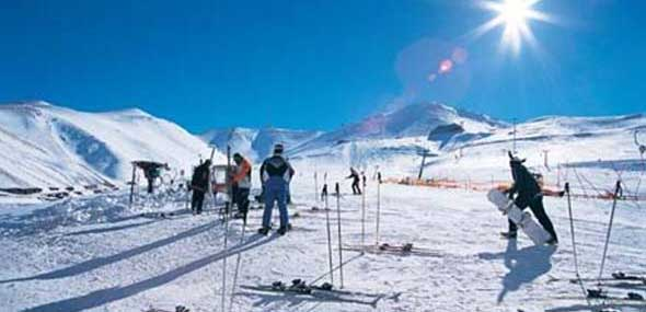 Türkisches Wintersportgebiet Palandöken