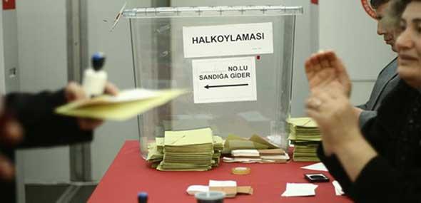 Stimmabgabe Türkei-Referendum
