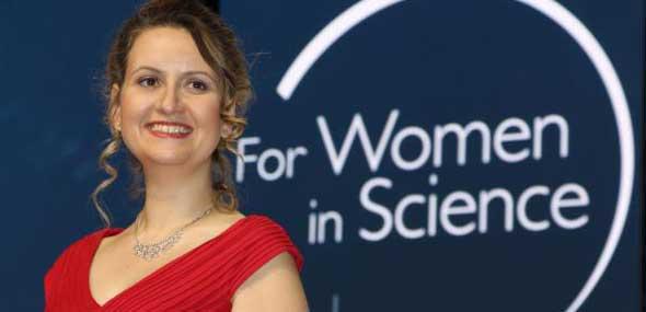 Türkische Wissenschaftlerin Rising-Talent