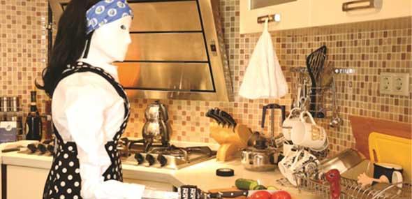 Türkischer humanoider Roboter