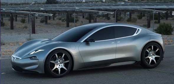 Luxus-Elektroauto