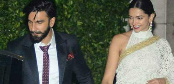 Indische Superstars Deepika Padukone Ranveer Singh