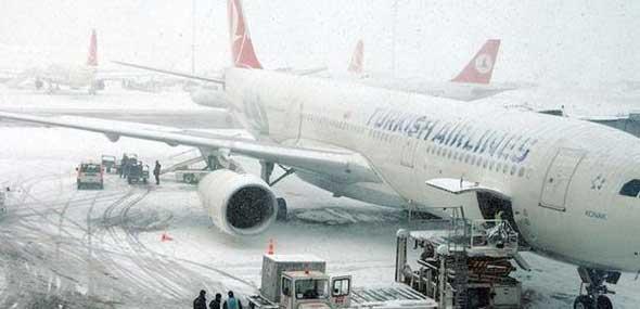 Flugausfälle bei Turkish Airlines