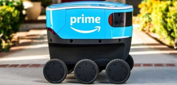 Lieferroboter Scout von Amazon