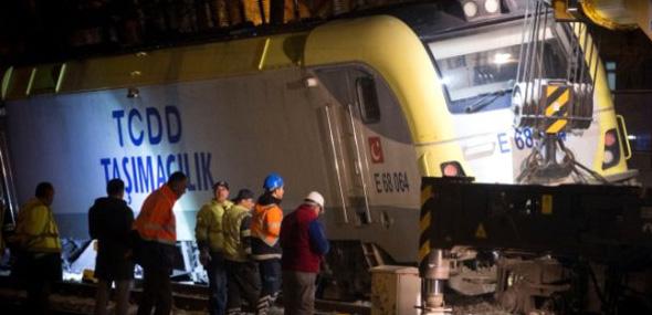 Türkischer Güterzug