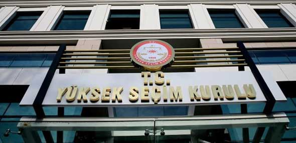 Stimmabgabe Kommunalwahlen Türkei