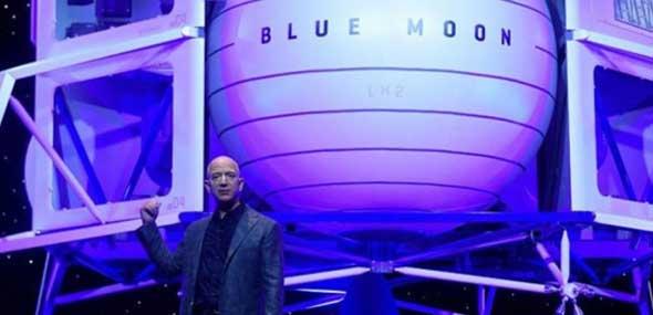 Amazon-Boss Bezos Blue Moon