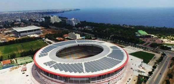 Antalyaspor erzeugt Öko-Strom