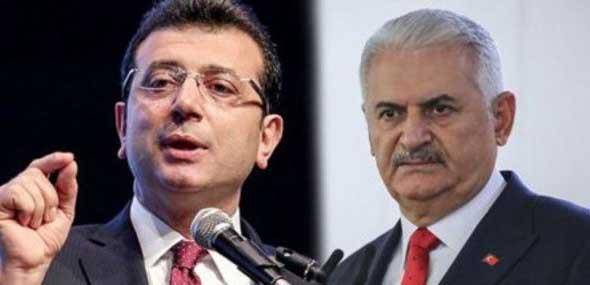 TV-Duell Yildirim und Imamoglu