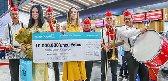 zehnmillionsten Fluggast
