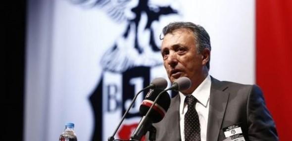Beşiktaş Istanbul neuen Präsident Ahmet Nur Cebi