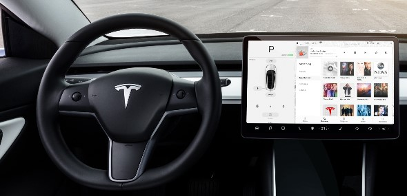 Tesla Model 3 mit älteren Chips