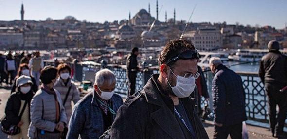 Mund-Nase-Schutz Pflicht Istanbul