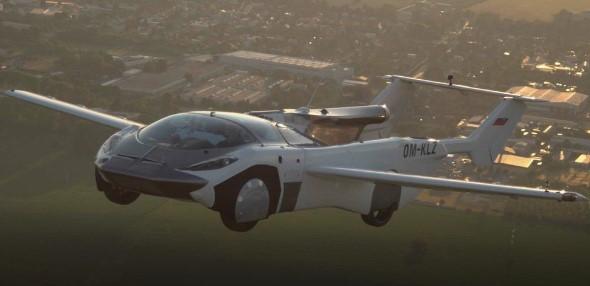 Fliegende Auto AirCar