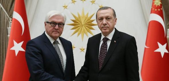 Danke an Steinmeier von Erdogan